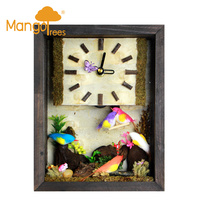 "Miniature Clocks 6x8"" Bird-10"