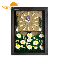 "Miniature Clocks 6x8"" Flower-16"