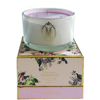 MOR Luxury 3-Wick Candle 600G Marshmallow
