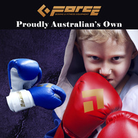 Force Children's boxing PU Blue gloves