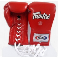 FAIRTEX - Professional Leather/Lace Up Fight Gloves (BGL6)