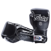 FAIRTEX - Angular Full Wrist Closure Sparring Gloves/Black (BGV6)