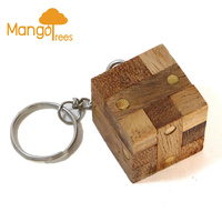 Locking Puzzle Keychain GP208K