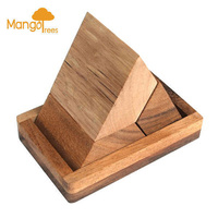 Pyramid Puzzle 3 Pcs With Base GP303B