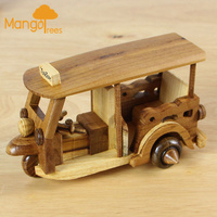 Wooden Classic Toy Car Tuk Tuk GP607