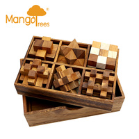 6 Puzzles Deluxe Gift Box Set #1