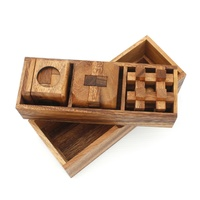 3 Puzzles Deluxe Gift Box Set #2