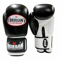 MORGAN V2 Platinum Leather  Sparring Muay Thai Boxing Gloves