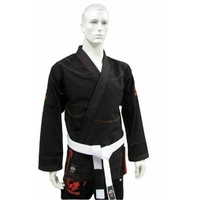 DRAGON V2  450Gsm BJJ Gi - IBJJF Approved (Black)