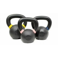 MORGAN Cast Iron Kettlebells Fitness 3Pcs Pack (8Kg + 12Kg + 16Kg)