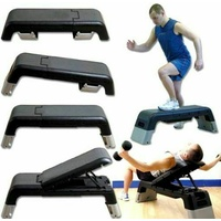 MORGAN Elite Workout Platform for Aerobic and Fitness Workouts Cardio Plyo