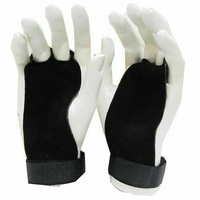 MORGAN Strength exercises Training Leather Palm Grips (Pair)
