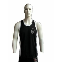 MORGAN Cross Functional Fitness MUAY THAI MMA Boxing Training Workout Singlet