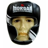 MORGAN V2 Pro Leather Head Guard Protector