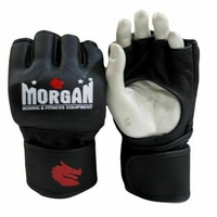 MORGAN V2 Elite Leather PRO MMA UFC Fight Gloves