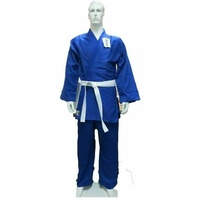 DRAGON Blue 1.5 (550Gsm) Judo Weave MARTIAL ARTS UNIFORMS