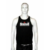 Morgan BOXING MUAY THAI MMA Training Singlet  -  Black