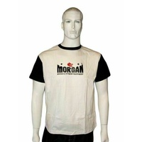 MORGAN Matrial Arts Uniform Training T-shirt Top White
