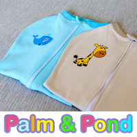 Twins set Palm and Pond Baby Swaddle Pod