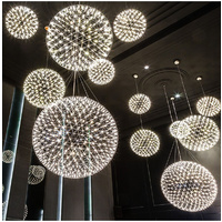 Fireworks Round Ceiling Light 30cm Day Light