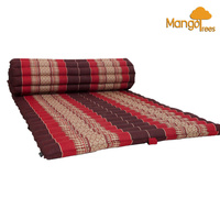 Roll Up Mattress Foldout Mat Red