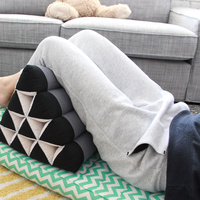 Thai Triangle Pillow Pad Kapok BlueEle