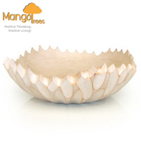 ROME Mango Wood Bowl Large