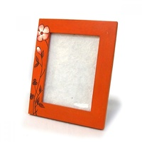 "Wooden Photo Frame 6x8"" 36709-PTD223"