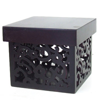 Storage Wooden Box Black