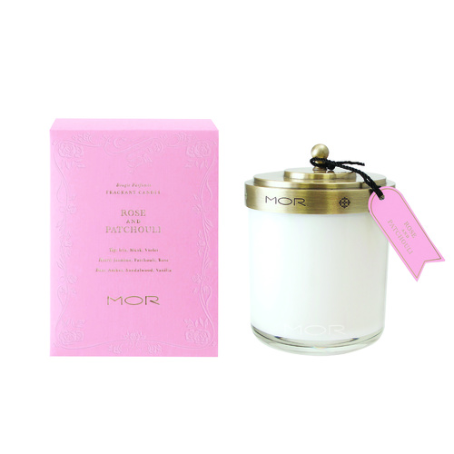 MOR Candle Rose & Patchouli