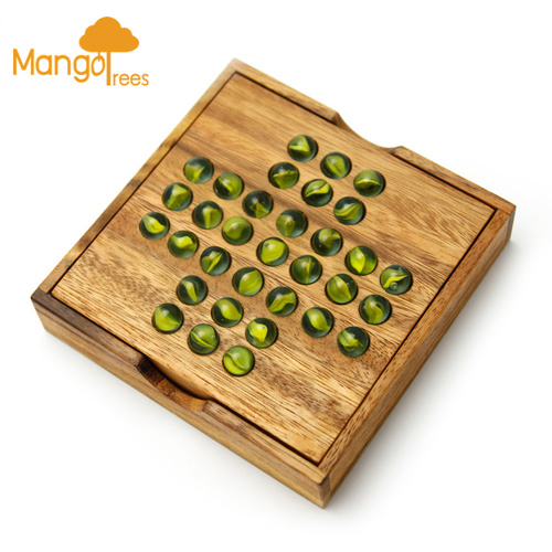 Solitaire Game with Glass Marbles GP104M