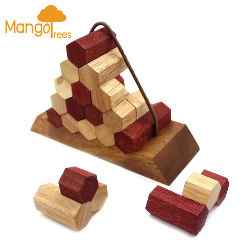 Beehive Pyramid Puzzle with base GP310